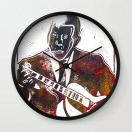 Muddy Waters 2/3 Wall Clock