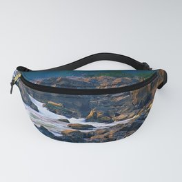 Rock and water in northern Virginia Fanny Pack