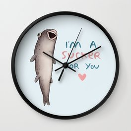 Suckerfish Wall Clock