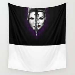 Swan Queen Wall Tapestry