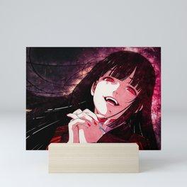 Kakegurui Compulsive Gambler   Yumeko Jabami Mini Art Print