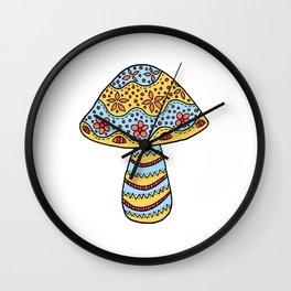 A Single Mushroom (3) Wall Clock