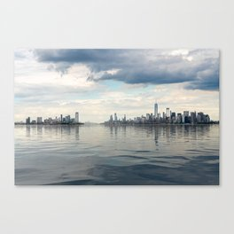 Dramatic widescreen panorama of NYC Canvas Print