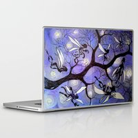 fairies Laptop & iPad Skins featuring fairies by sad little monsters
