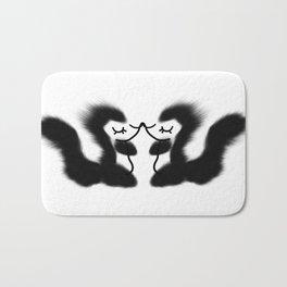 Hugs & kisses, Little skunk  Bath Mat