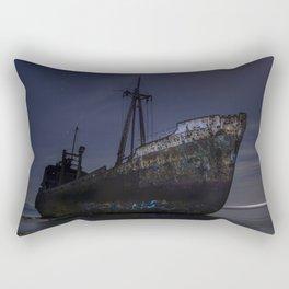 Under the moonlight Rectangular Pillow