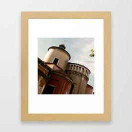 Cool Italian buildings Framed Art Print