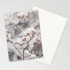 Red Winter Stationery Cards
