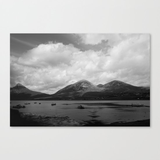 Colorless Paradise Canvas Print