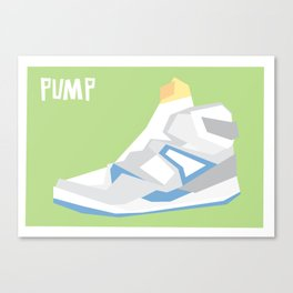 Pump Minimalist Canvas Print