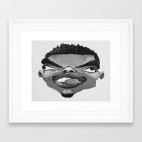 chance the rapper Framed Art Prints featuring Chance the Rapper by Josephine Guan