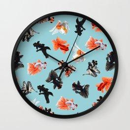Goldfish Bowl Wall Clock
