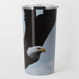 Alaskan Bald Eagle Travel Mug
