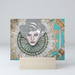 Many Faces - 2 Mini Art Print