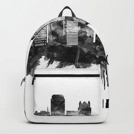 Birmingham England Skyline BW Backpack
