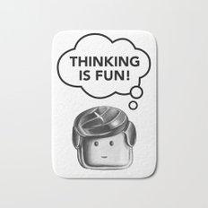 Thinking is Fun Bath Mat