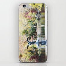 autumn in new york iPhone & iPod Skin