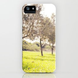 Olive trees heaven - Israel iPhone Case