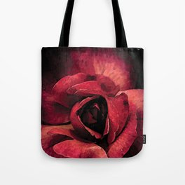 Rose qui s'ouvre colors fashion Jacob's Paris Tote Bag