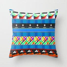 NEX GEN BLUE Throw Pillow