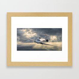 40 years flying Framed Art Print