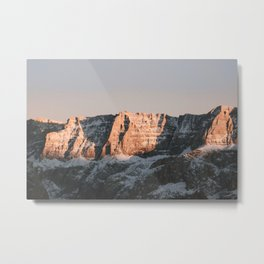 Dolomites | Nature and Landscape Photography Metal Print