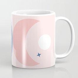 Mystic Balance Moon & Leaf Coffee Mug