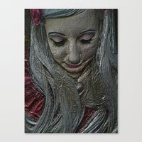 fairytale Canvas Prints featuring Fairytale by J5rson