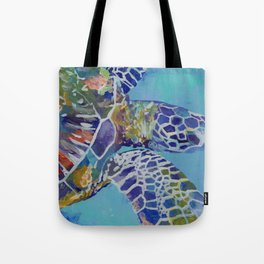 Honu Kauai Sea Turtle Tote Bag