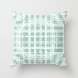 Blue Scribbles Pattern 02 Throw Pillow