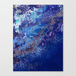 Blue Abstract No.1 Canvas Print