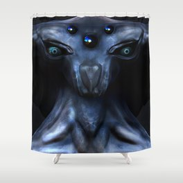 The Stargazer Shower Curtain