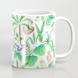 jungle lifestyle pattern Coffee Mug