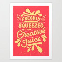 Creative Juice Art Print