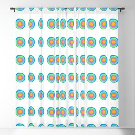 Brights Abstract Pattern Blackout Curtain