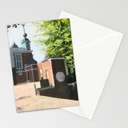 The Royal Observatory in Greenwich London Stationery Cards