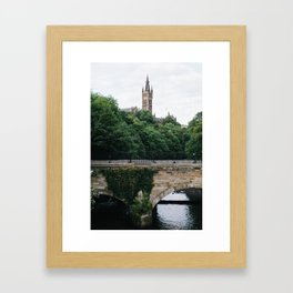 The Kelvingrove in Glasgow, Scotland Framed Art Print