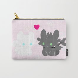 Light Fury & Night Fury LOVE Carry-All Pouch