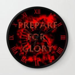 Prepare for Glory-Spartan Warrior Wall Clock