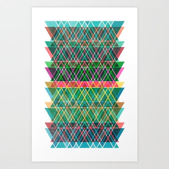 Collidiscope Art Print