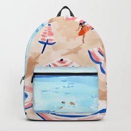 Beach Day II Backpack