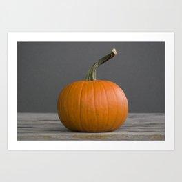 """Sugar Pie"" Pumpkin no. 3 -- Still Life Squashes & Potirons Art Print"