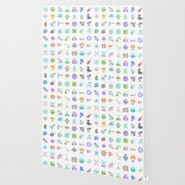 CUTE SCIENCE / SPACE / SCI-FI PATTERN Wallpaper
