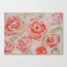 Petal Roses Canvas Print