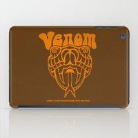 anchorman iPad Cases featuring ANCHORMAN - Venom  by John Medbury (LAZY J Studios)