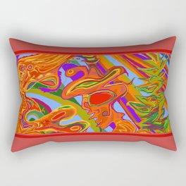 Man, Wilderness, and Psyche Rectangular Pillow