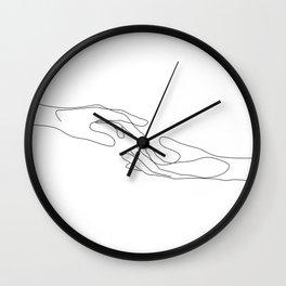 Between Us Wall Clock