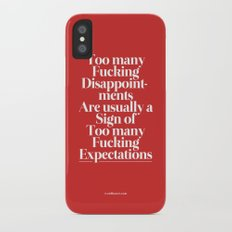 Disappointments Slim Case iPhone X