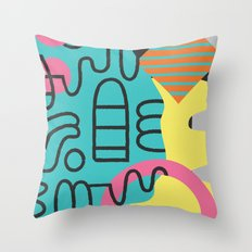 Lallibela Throw Pillow