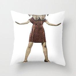 Dear Sisters Throw Pillow